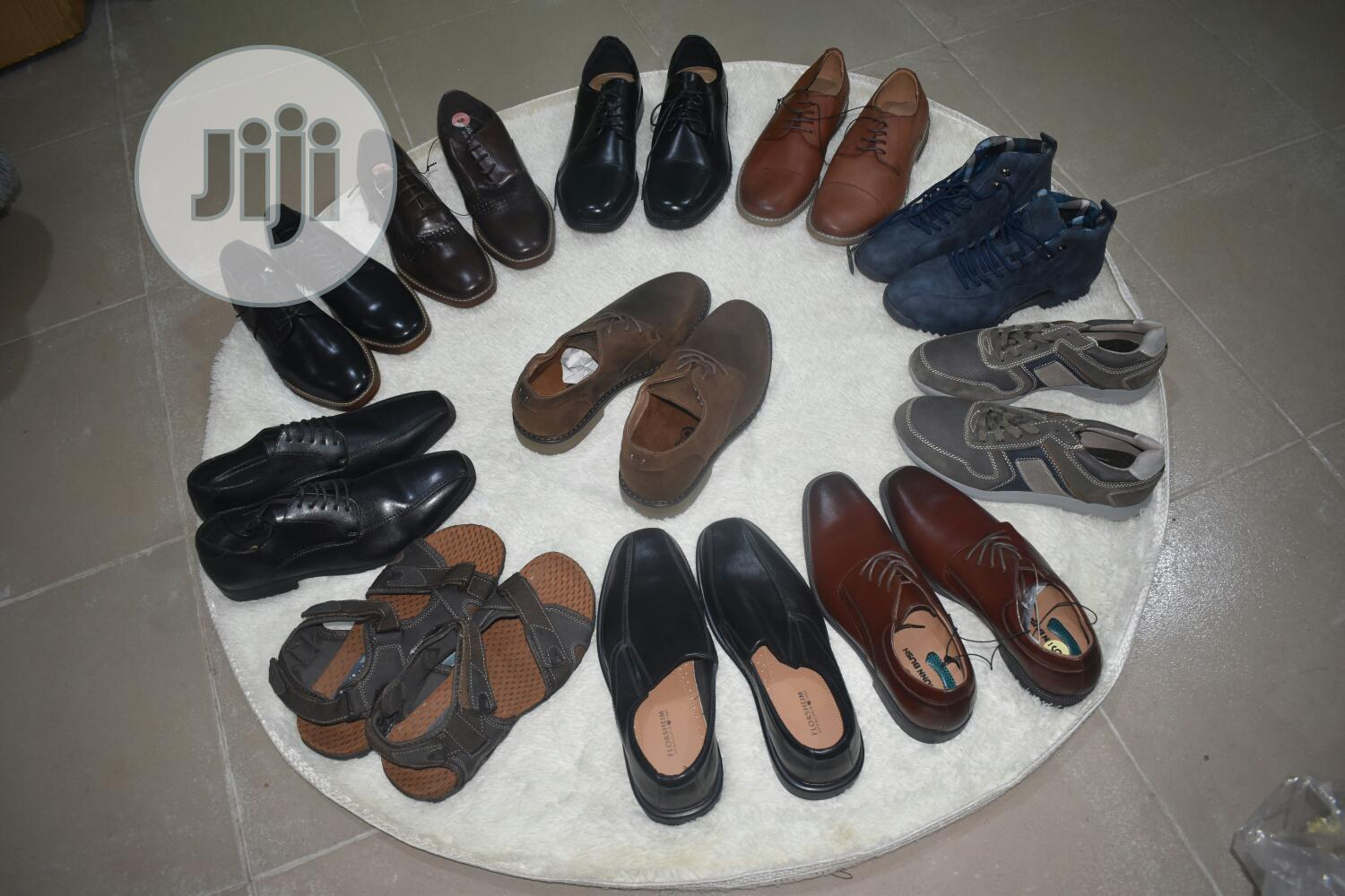 Wholesale - Men Mixed Corporate Shoe (Carton of 40 Pairs) | Shoes for sale in Alimosho, Lagos State, Nigeria