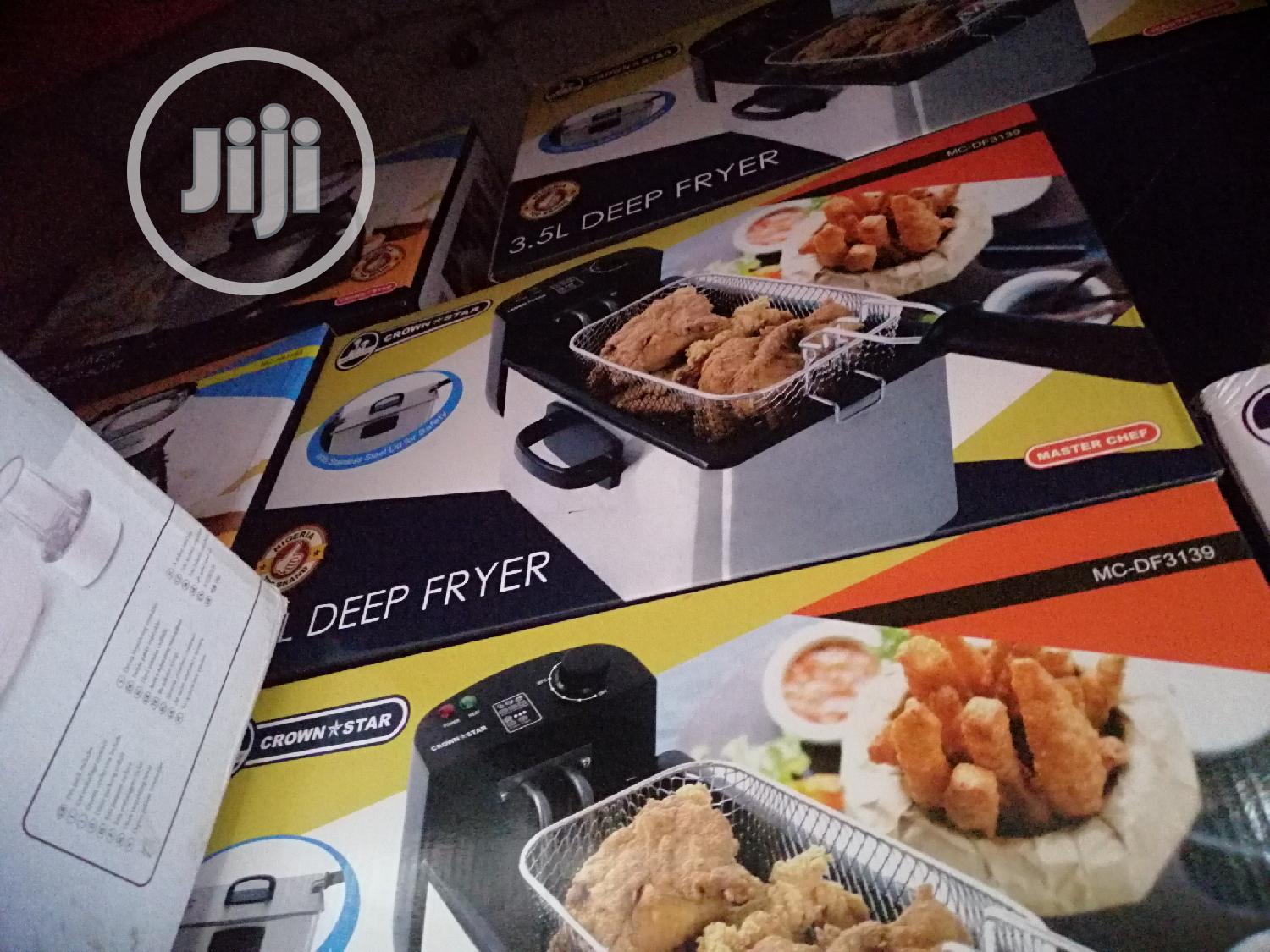 Archive: Master Chef Stainless Deep Fryer 3.5L