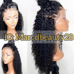 Lace Frontal Deep Wave Wig   Hair Beauty for sale in Imo State, Owerri