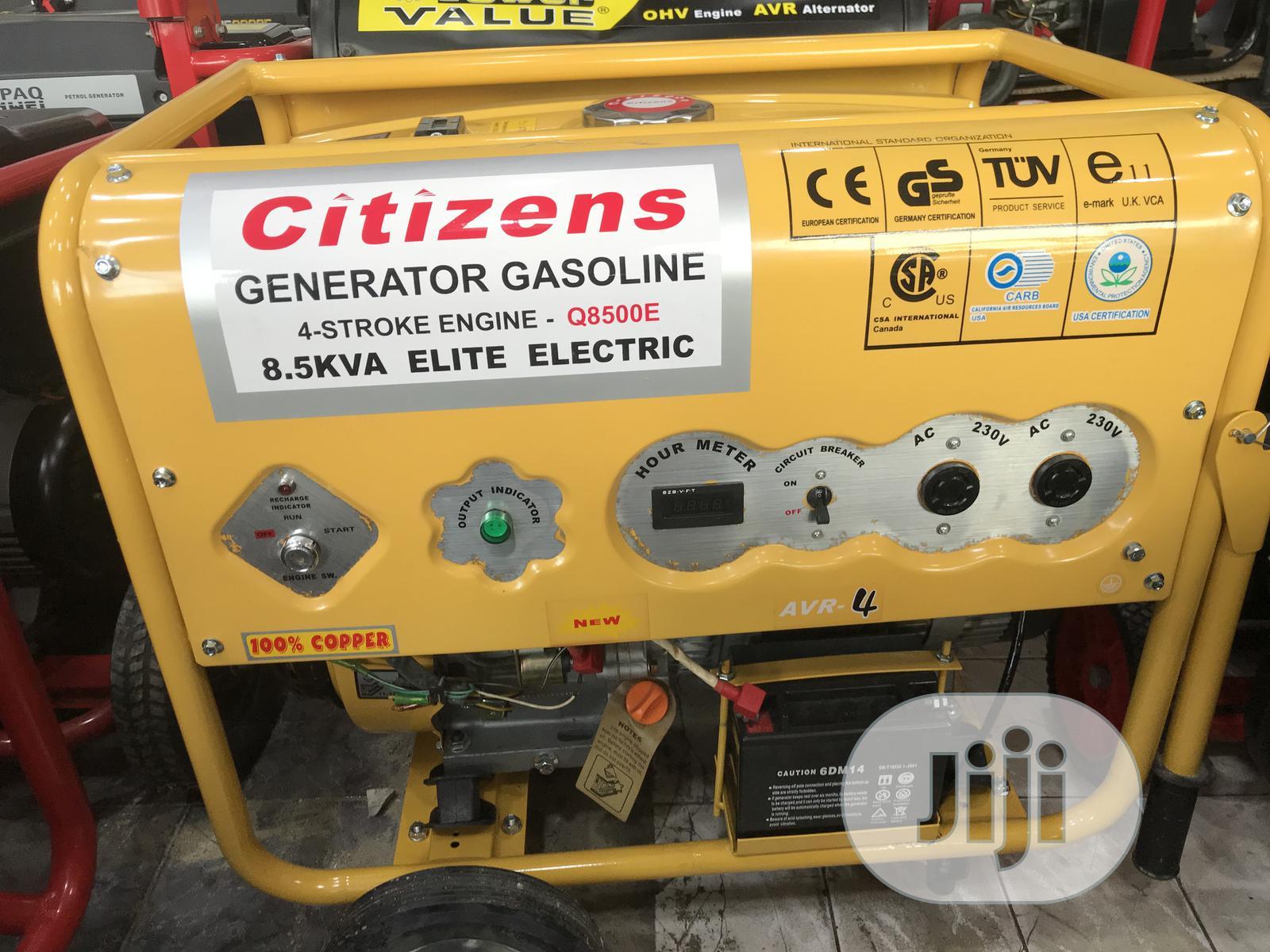 Brand New Citizen Gasoline Q8500E 9KVA