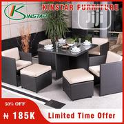 Four Seaters Sofa With Dinning Table From Kinstar Furniture | Furniture for sale in Lagos State, Ikoyi