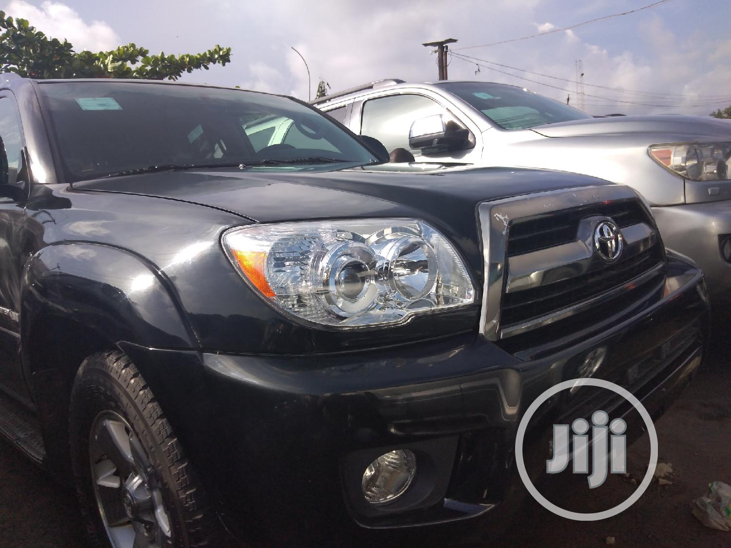 Toyota 4-Runner 2008 Limited Black | Cars for sale in Apapa, Lagos State, Nigeria