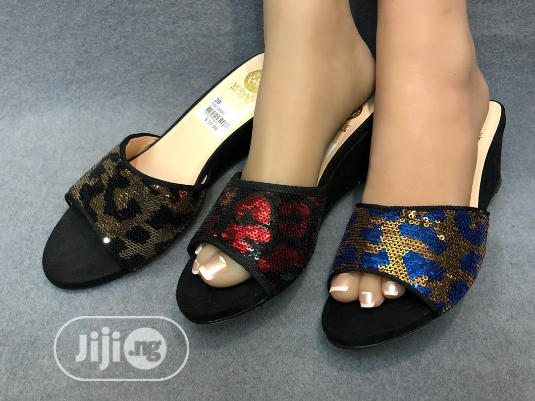 High Quality Women's Wedge Slippers