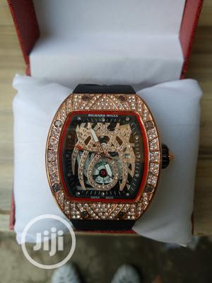 Richard Mille Men's White Rubber Wristwatch | Watches for sale in Lagos State, Surulere