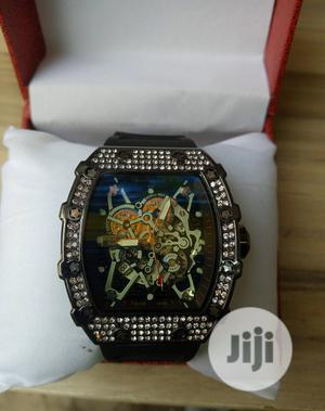 Richard Mille Men's Black Rubber Wristwatch | Watches for sale in Lagos State, Surulere