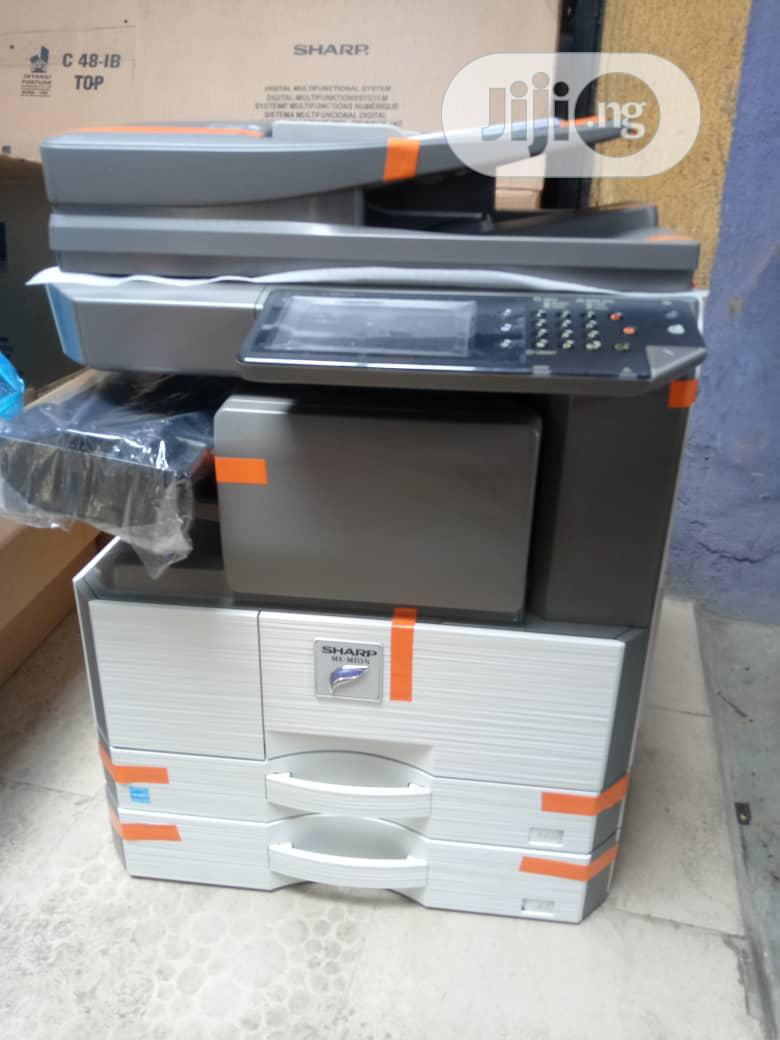 Sharp Mx 315N Photocopies Black and White