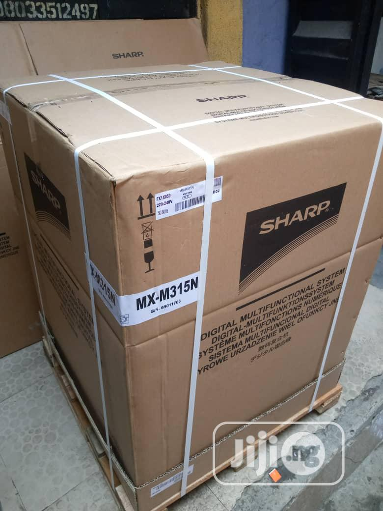 Sharp Mx 315N Photocopies Black and White   Printers & Scanners for sale in Surulere, Lagos State, Nigeria