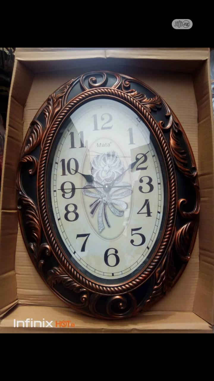 Beautiful Wall Clock | Home Accessories for sale in Alimosho, Lagos State, Nigeria