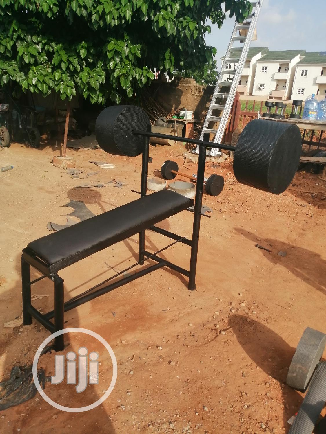 Custom Made Adjustable Bench Press | Sports Equipment for sale in Wuye, Abuja (FCT) State, Nigeria