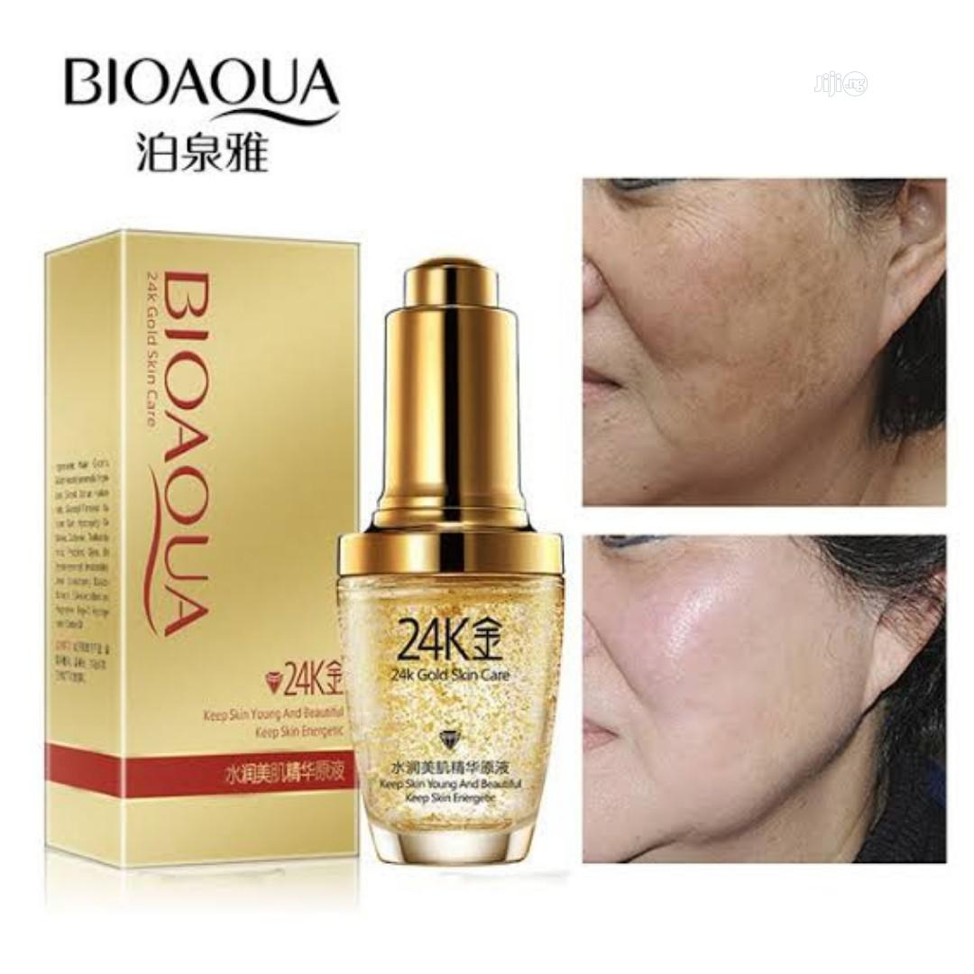 Archive: BIOAQUA 24 K Gold Day Cream Hydrating Essence Serum Face Skin Care