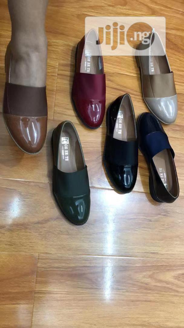 Shining Flat Shoe