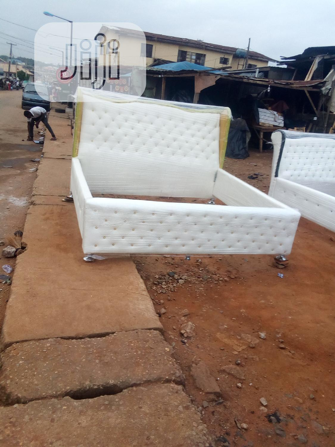 6 By 6 Bed Frame | Furniture for sale in Ikeja, Lagos State, Nigeria
