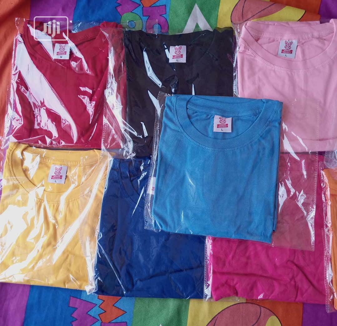 Plain Tshirts With Cap