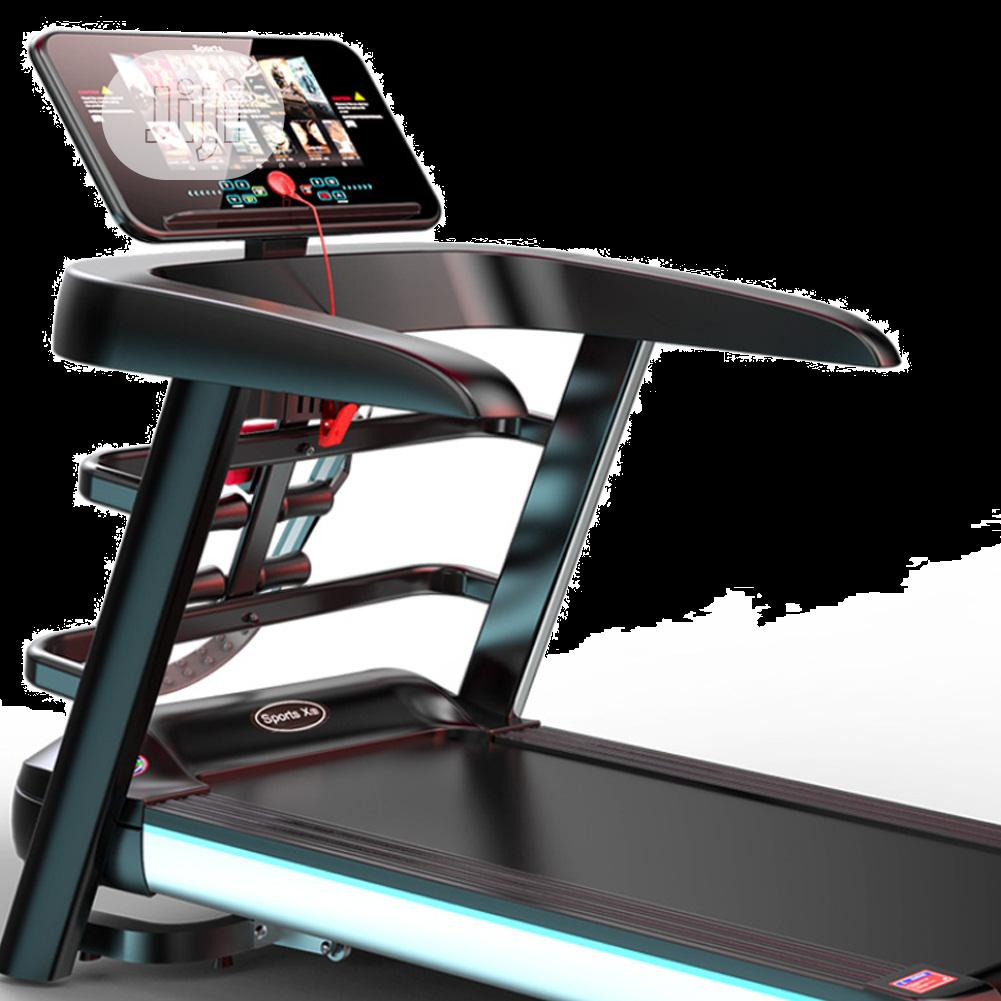 2.5hp Treadmill With Massager With Incline And Mp3
