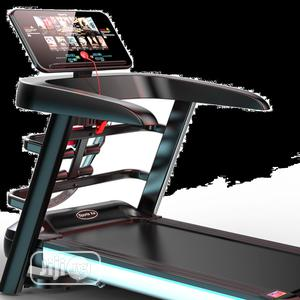 2.5hp Treadmill With Massager With Incline And Mp3   Sports Equipment for sale in Lagos State, Surulere