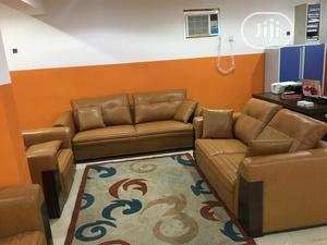 Leather Sofa Chair By 7 Seaters | Furniture for sale in Lagos State, Amuwo-Odofin