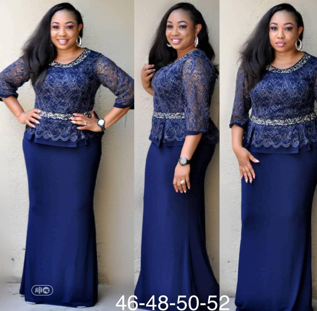 Lycra Long Turkey Gown | Clothing for sale in Amuwo-Odofin, Lagos State, Nigeria