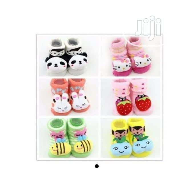 Girls Booties Gift Set Socks X 6 Pairs