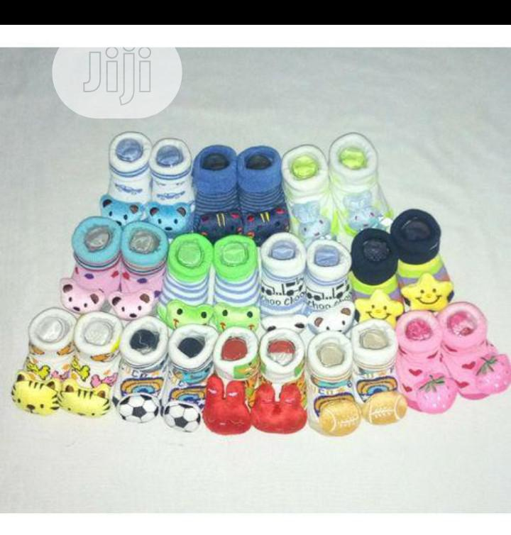 Girls Booties Gift Set Socks X 6 Pairs | Babies & Kids Accessories for sale in Ikeja, Lagos State, Nigeria