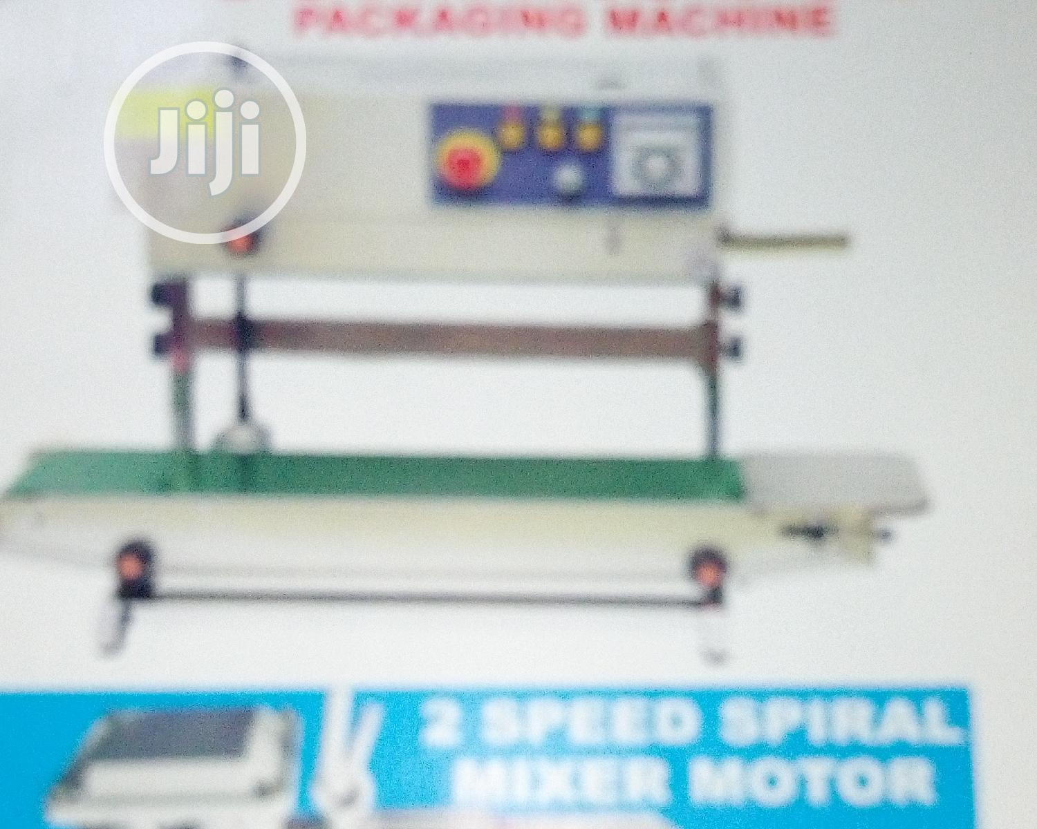 Archive: Continuous Packaging Machines
