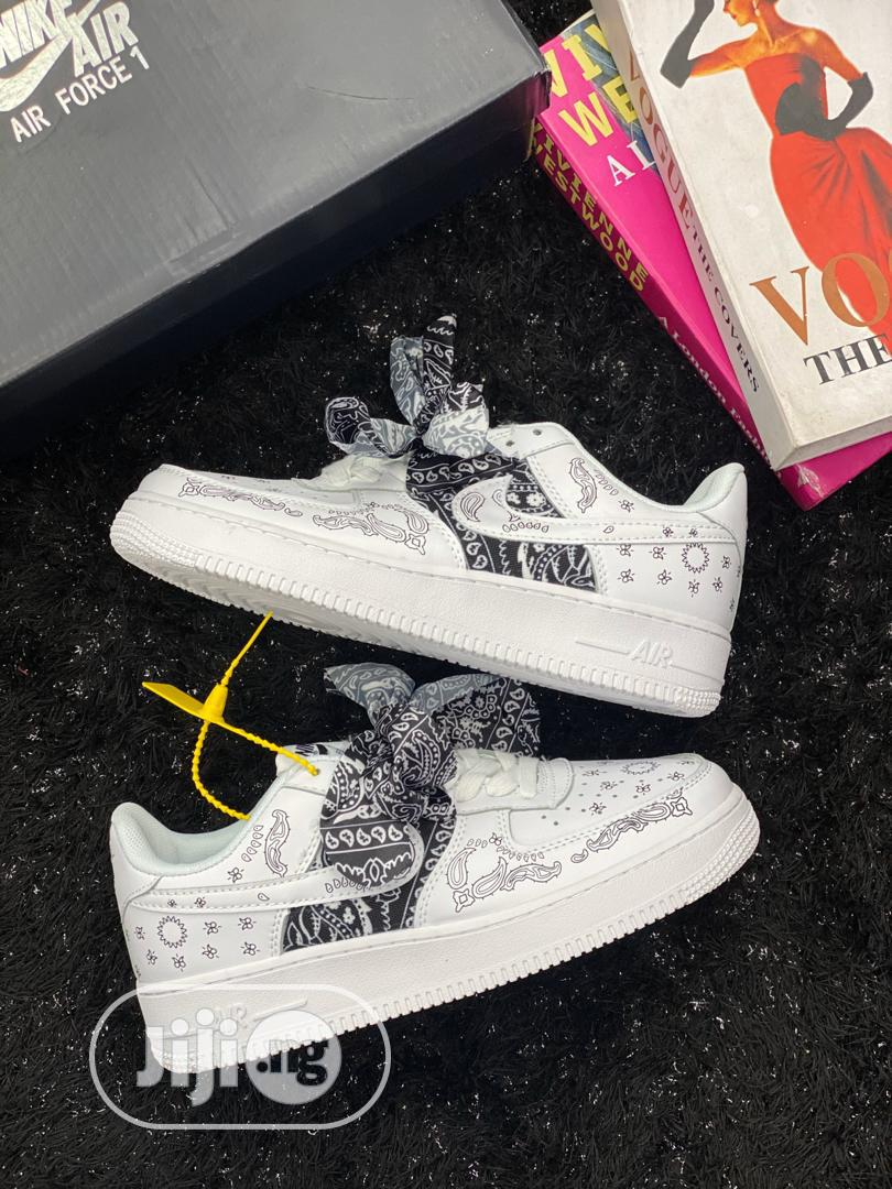 Nike Airforce X Bandanna Sneakers | Shoes for sale in Lagos Island, Lagos State, Nigeria