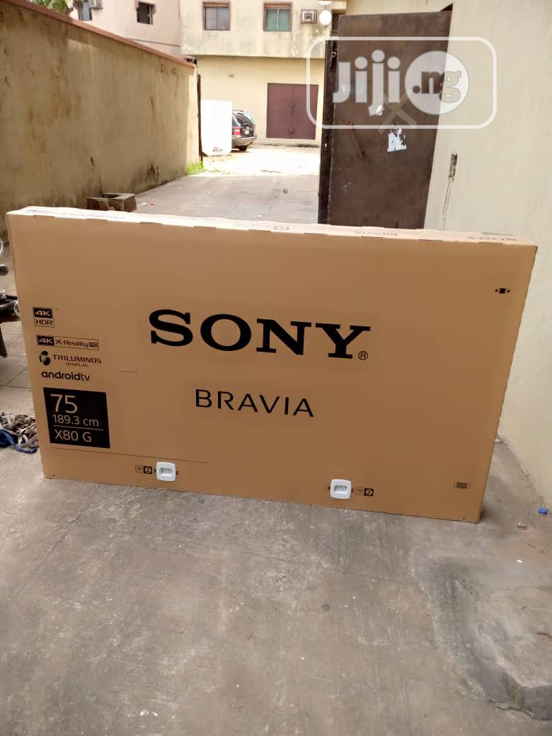 Sony 75inches Smart 4k Led Television
