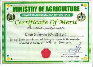 Clerical & Administrative CV | Farming & Veterinary CVs for sale in Abuja (FCT) State, Kubwa