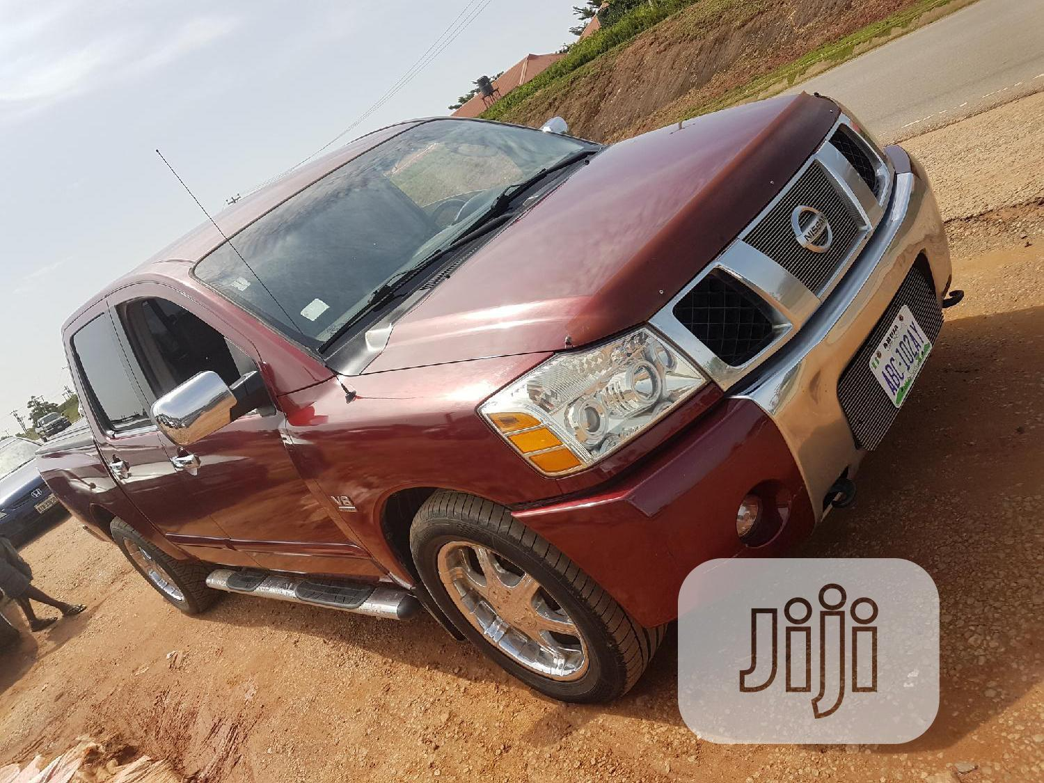 Archive: Nissan Titan 2006 Red