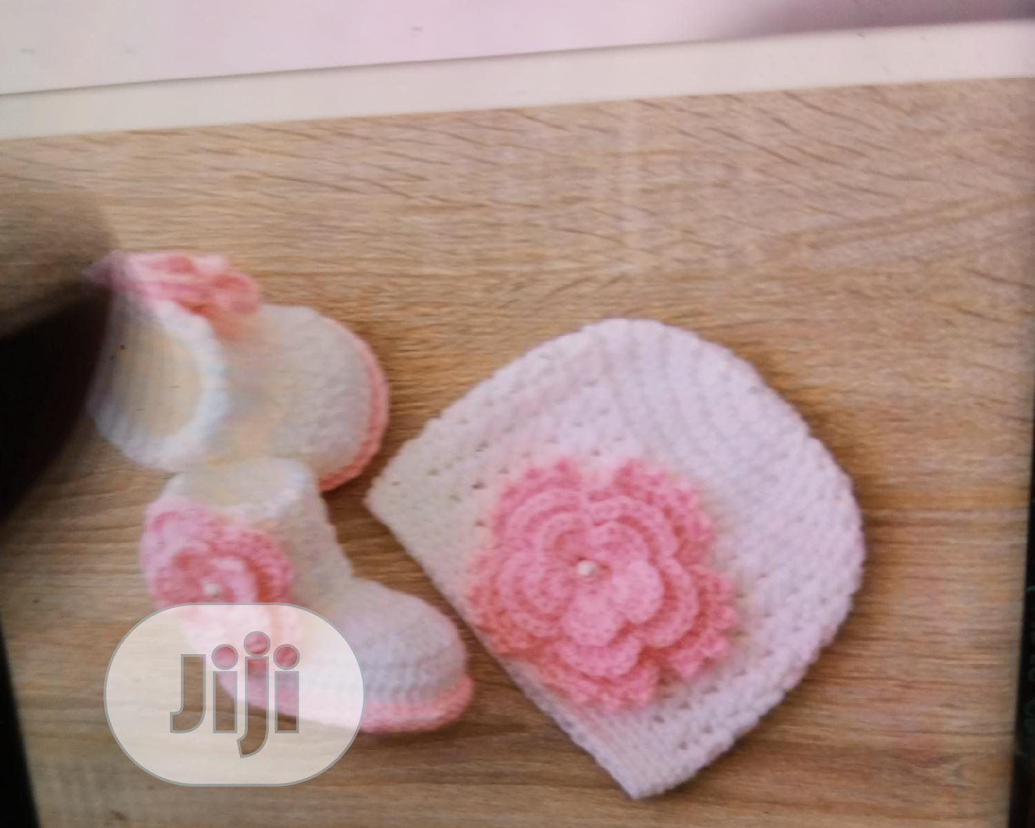Foreign Wool Hand Made Shoes For Babies (0-12mnths) | Children's Shoes for sale in Mushin, Lagos State, Nigeria