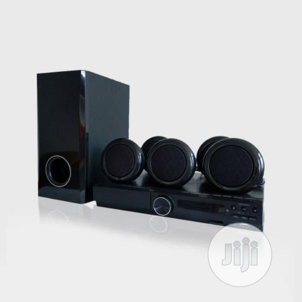 358SD 5.1chanel Speaker Home Theatre 300W DVD Black | Audio & Music Equipment for sale in Surulere, Lagos State, Nigeria