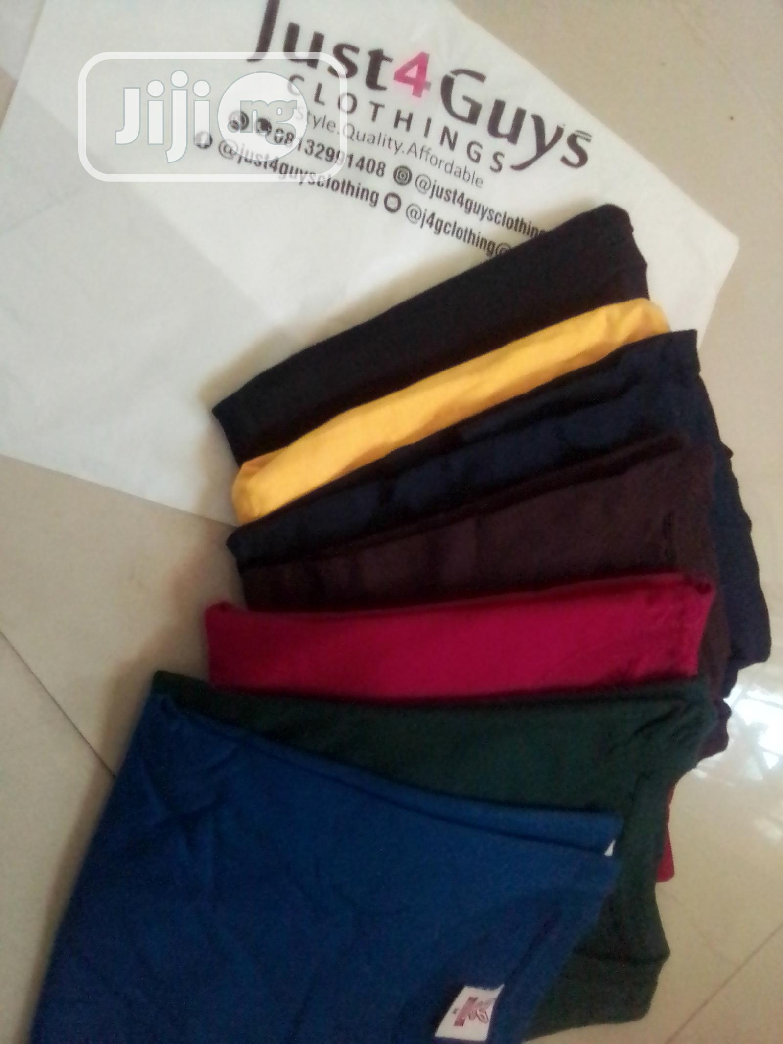 Unisex Plain Tees | Clothing for sale in Lagos Island, Lagos State, Nigeria
