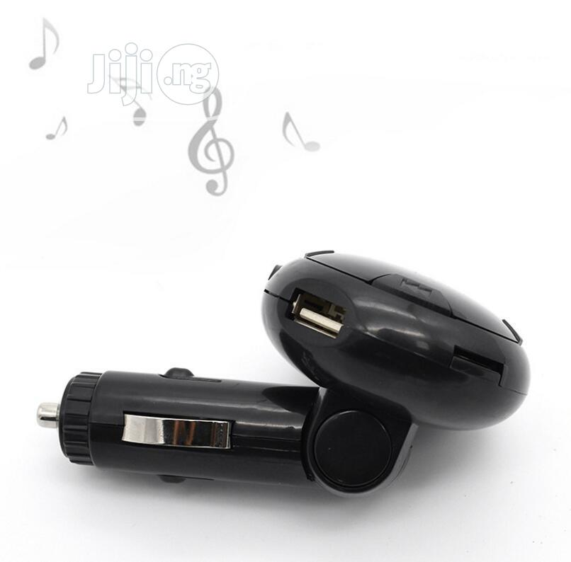 Q8 Car Charger MP3 Player FM Transmitter Bluetooth | Vehicle Parts & Accessories for sale in Ikeja, Lagos State, Nigeria