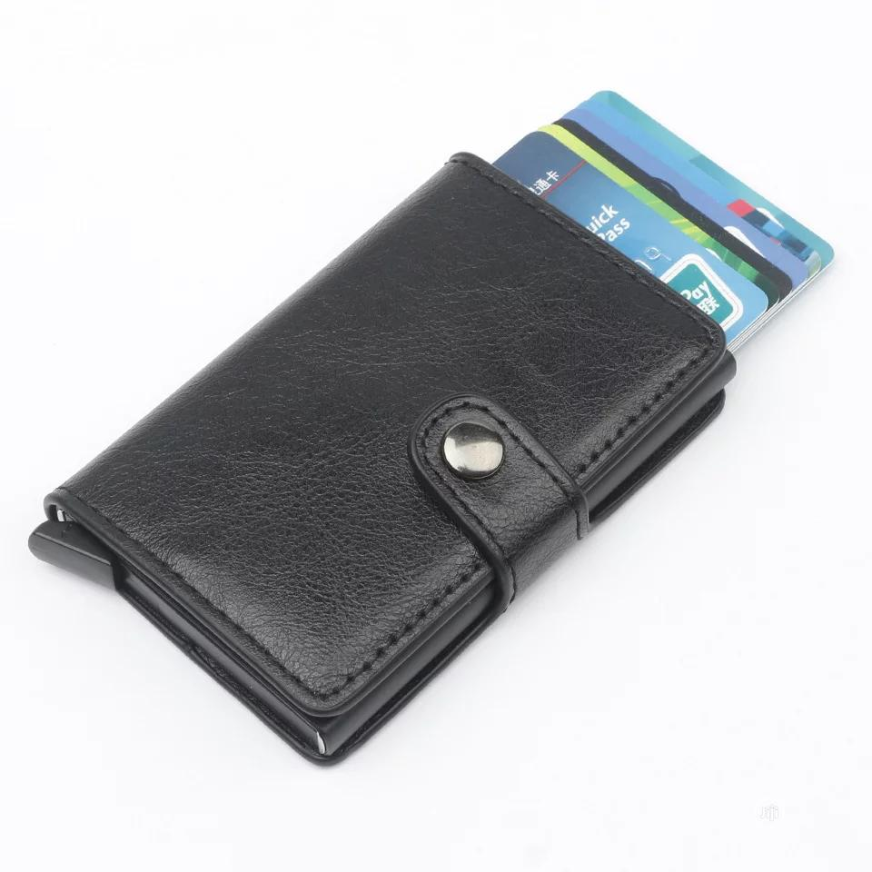 New Men Credit Card Holders Business ID Card Case Fashion Automatic