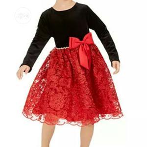 Rareeditions Red Velvet Dress | Children's Clothing for sale in Lagos State, Oshodi