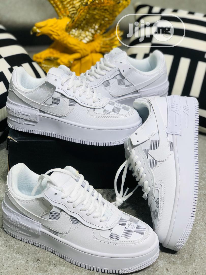 Nike Air Force 1 L/V White Double Sole