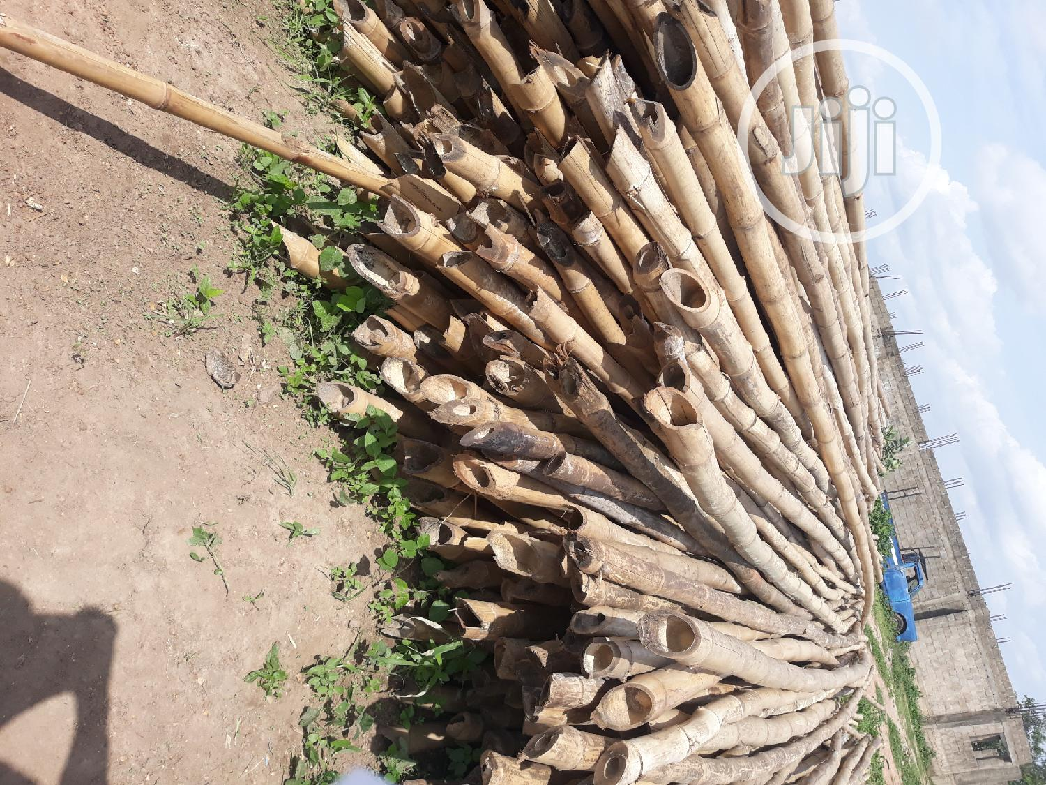 Long Bamboo Stalks | Building Materials for sale in Gwarinpa, Abuja (FCT) State, Nigeria