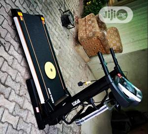 German Machine Treadmill With Massager and Dumbbell   Sports Equipment for sale in Lagos State, Surulere