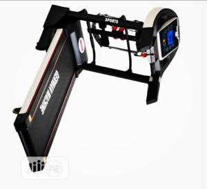 2.5hp German Treadmill With Massager and Dumbbell Heavy Duty | Sports Equipment for sale in Lagos State, Ikeja