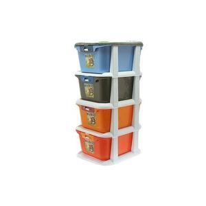 4-tier Multicolour Storage Baby Cabinet | Children's Furniture for sale in Lagos State, Lagos Island (Eko)