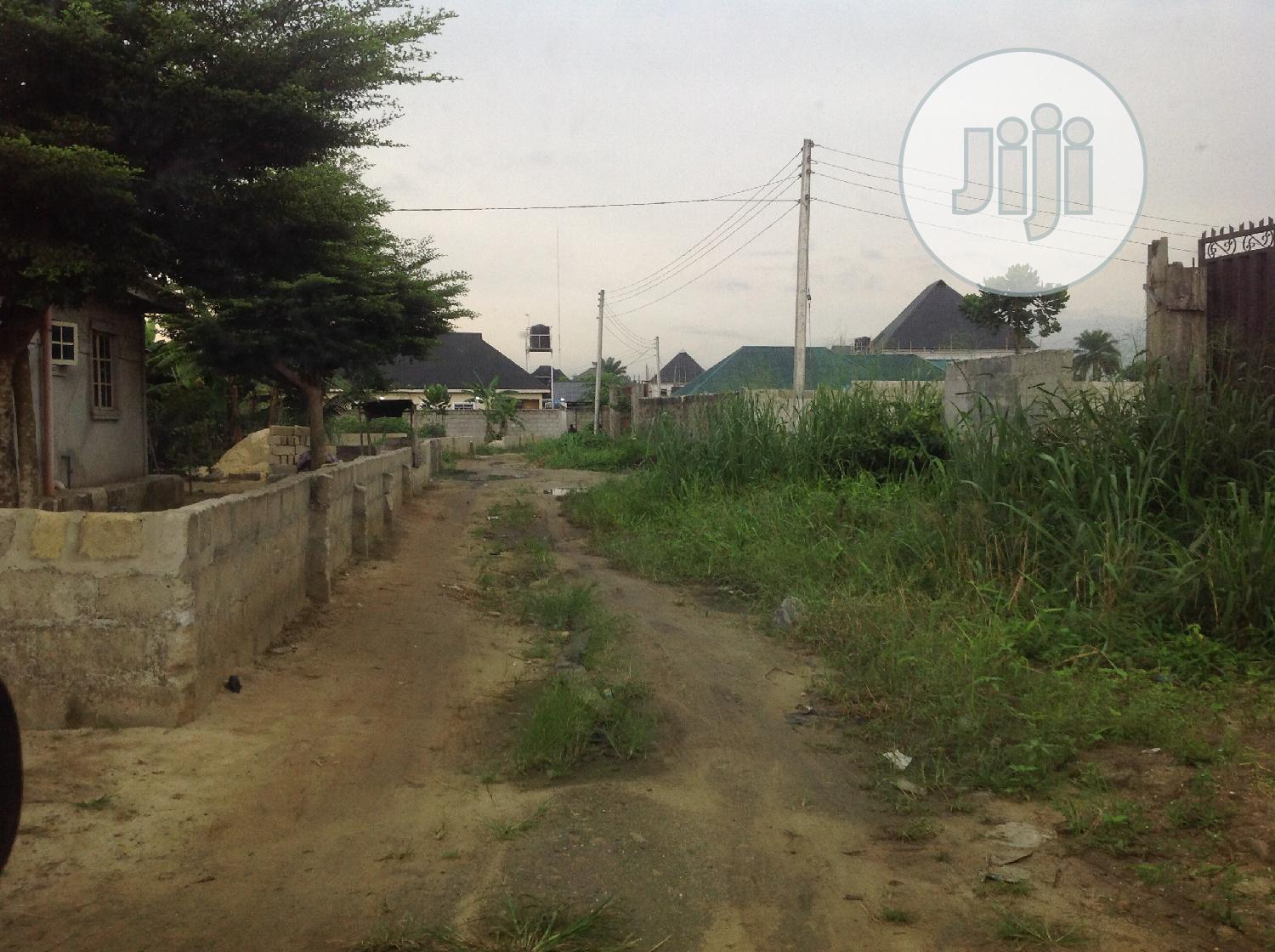 For Sale: One Plot of Land at Odani Estate, Elelewon, PHC   Land & Plots For Sale for sale in Obio-Akpor, Rivers State, Nigeria