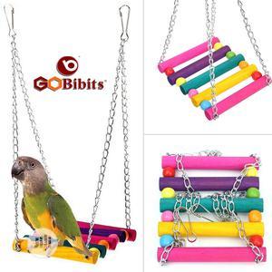 Bird Parrot Parakeet Cage Swing Hanging Toy   Pet's Accessories for sale in Lagos State, Ifako-Ijaiye