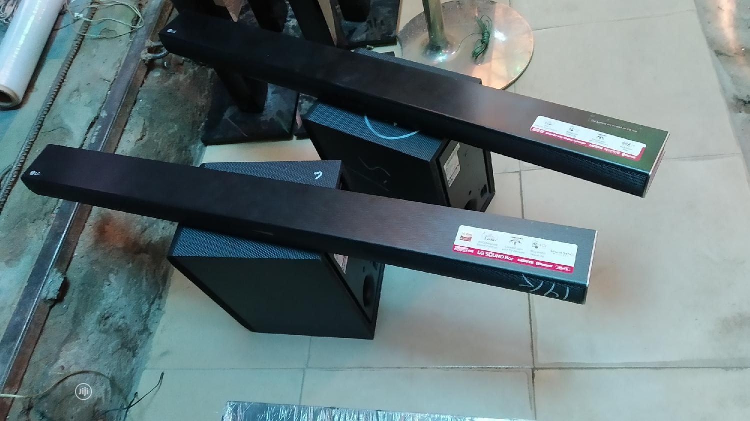 LG Samsung Sound Bar With Wireless Subwoofer | Audio & Music Equipment for sale in Ojo, Lagos State, Nigeria