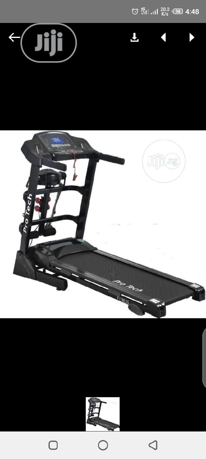 2hp Treadmill With Massager
