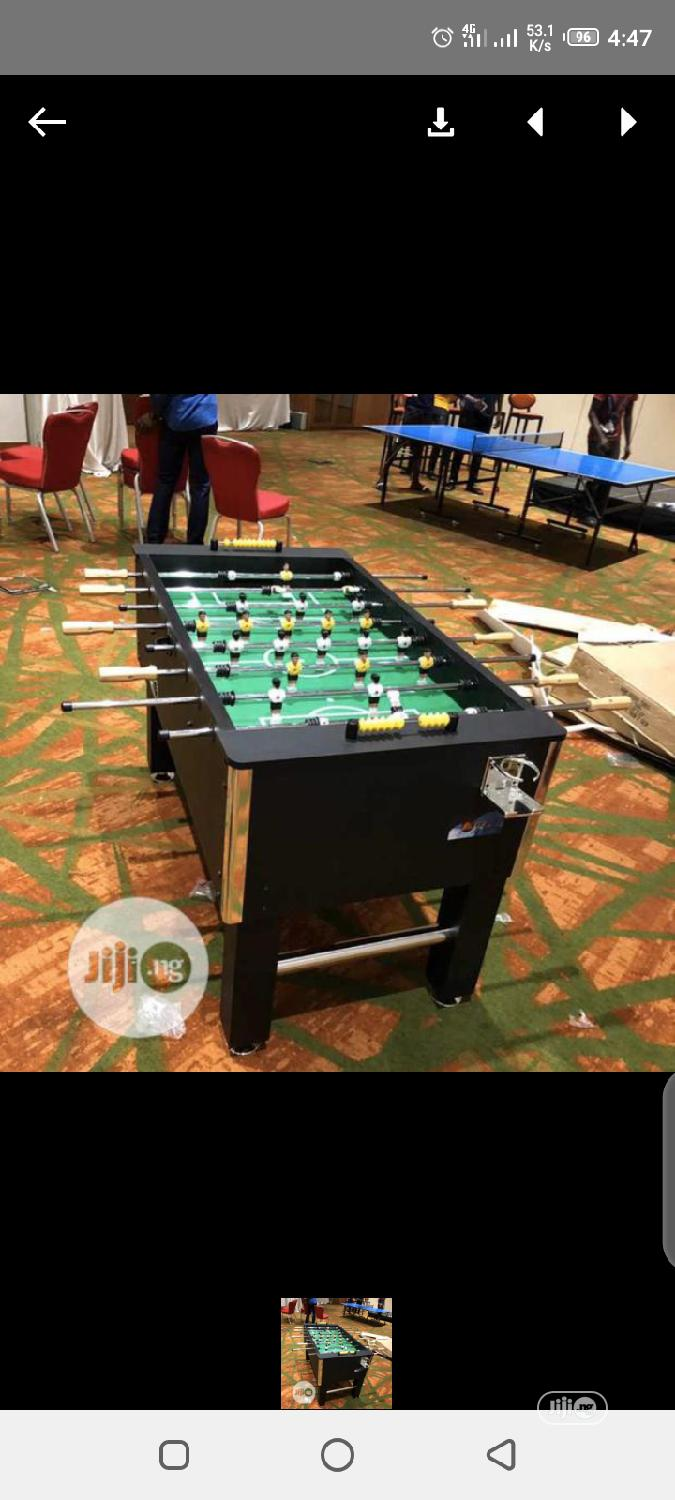 Archive: New Soccer Table
