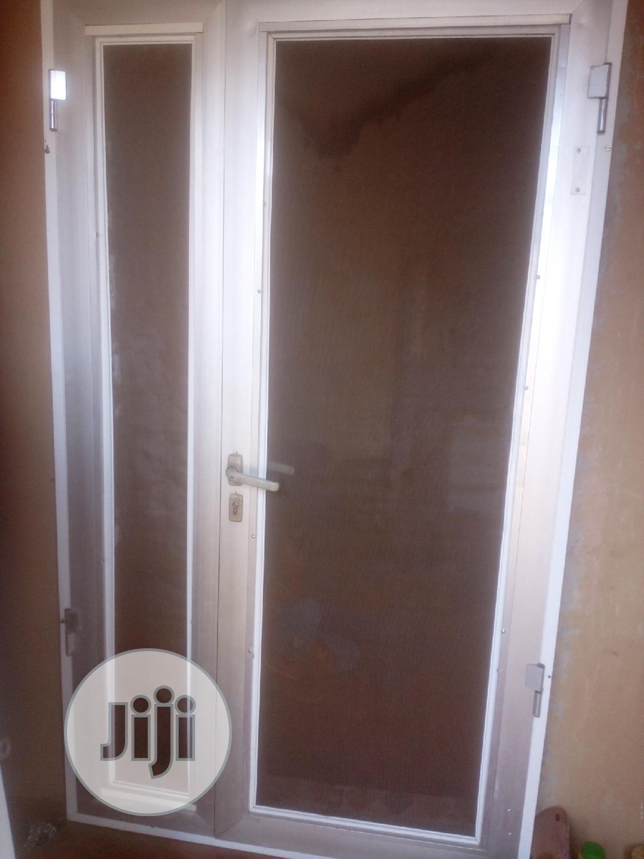Aluminum Net Door | Doors for sale in Ifako-Ijaiye, Lagos State, Nigeria
