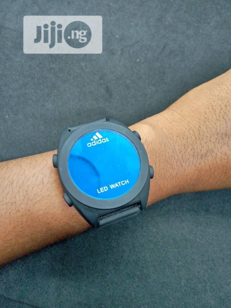 domingo una vez Pautas  Archive: Adidas LED Watch in Lagos Island (Eko) - Watches, Faith Adama    Jiji.ng