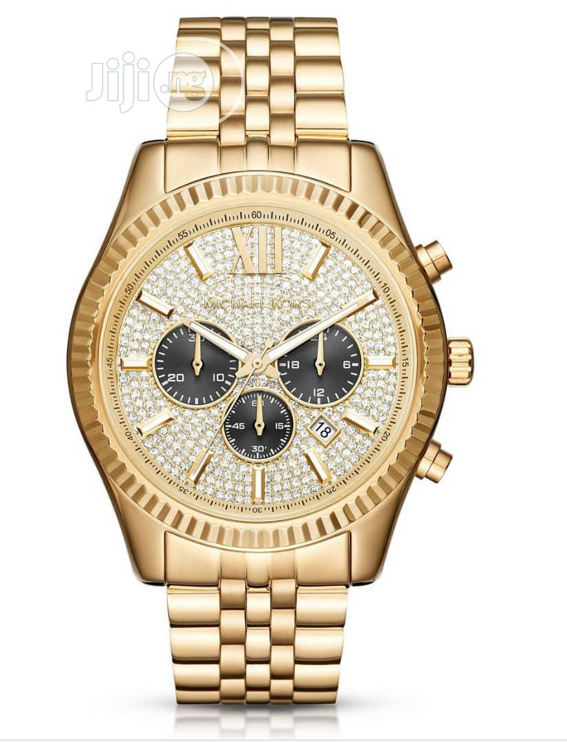 Gold Michael Kors Watch | Watches for sale in Magodo, Lagos State, Nigeria