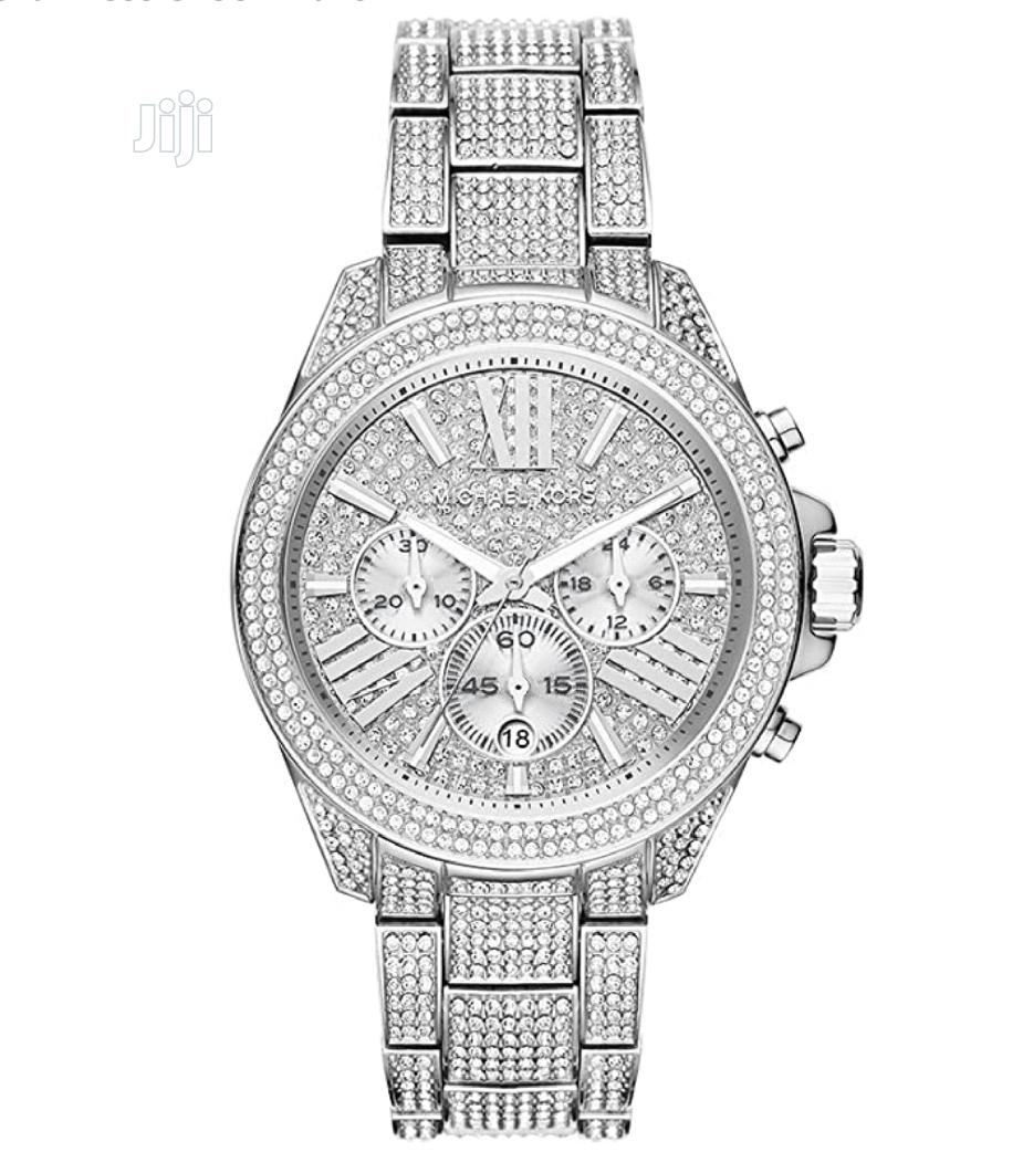 Michael Kors Women's Stainless Steel Wren Crystal | Watches for sale in Magodo, Lagos State, Nigeria