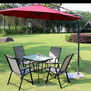 Complete Set Of Chairs And Tables With Umbrella   Garden for sale in Lagos State, Ojo