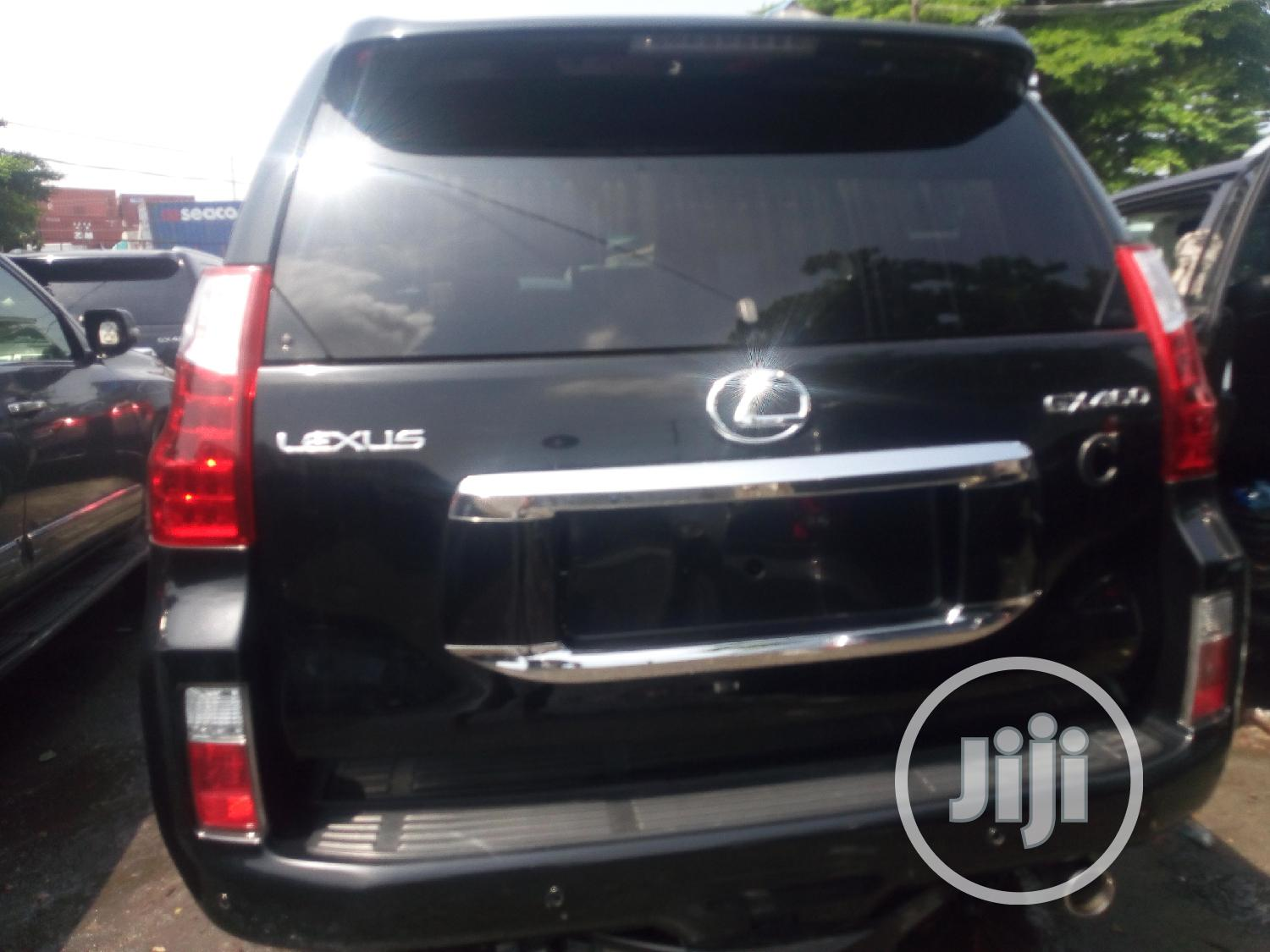 Lexus GX 2012 460 Black | Cars for sale in Amuwo-Odofin, Lagos State, Nigeria